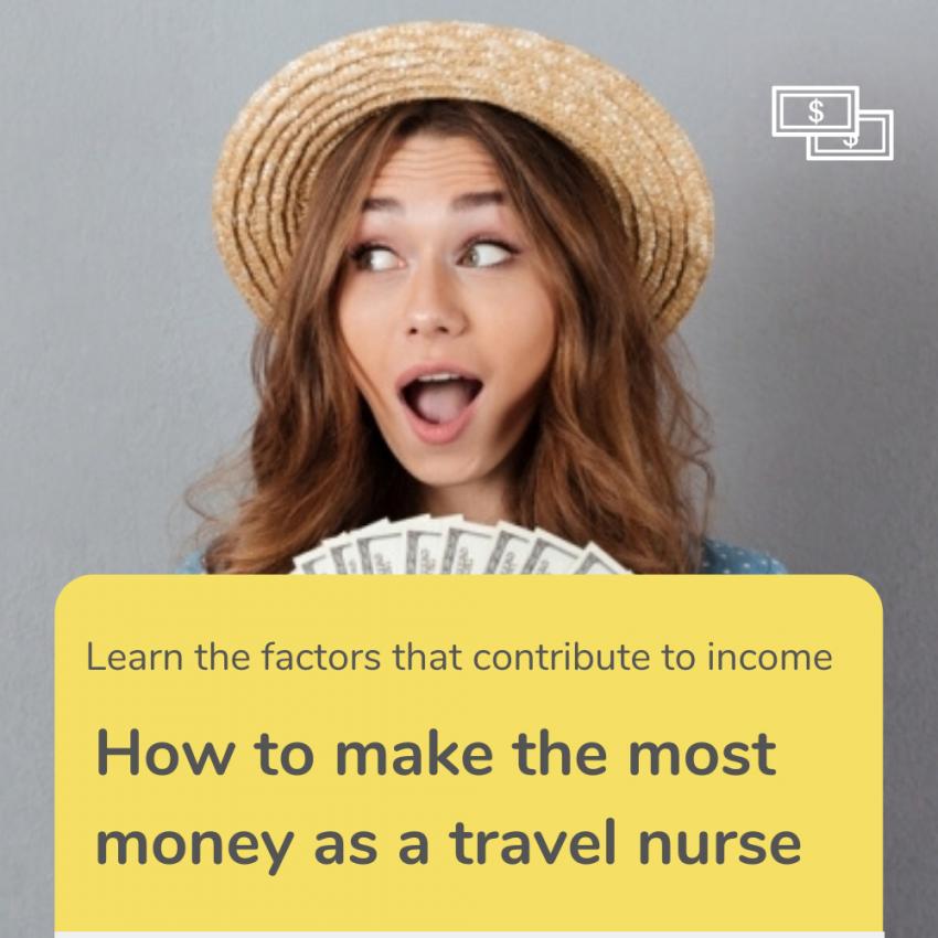 travel Nurse income