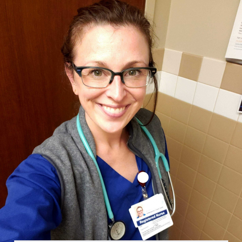Nurse Treating COVID